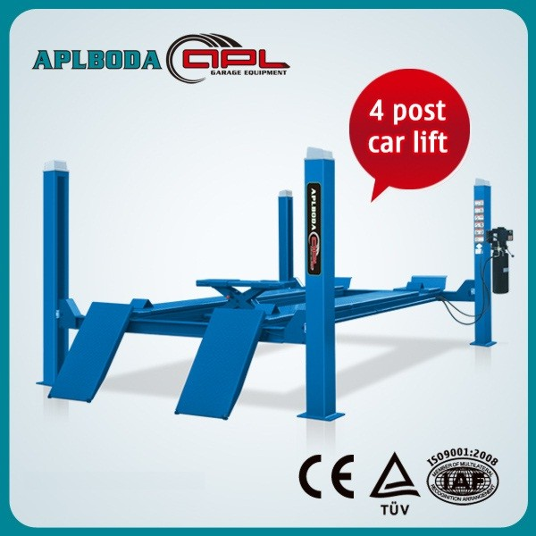 Four Post Lift for Alignment